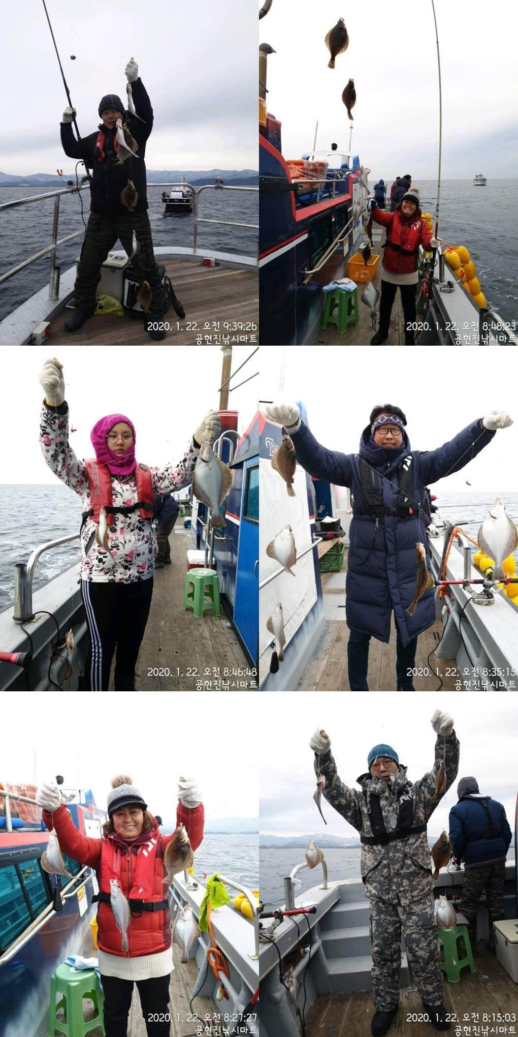 22인승 어구가자미 실시간 대~박 조황 / 내일 어구가자미 출조 모집합니다.